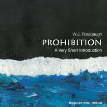Prohibition by W. J. Rorabaugh audiobook