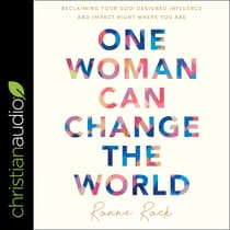One Woman Can Change the World by Ronne Rock audiobook