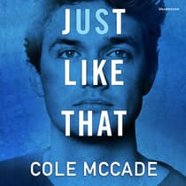 Just Like That by Cole McCade audiobook