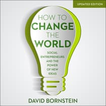 How to Change the World by David Bornstein audiobook