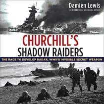 Churchill's Shadow Raiders by Damien Lewis audiobook