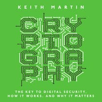 Cryptography by Keith Martin audiobook