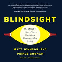 Blindsight by Matt Johnson audiobook