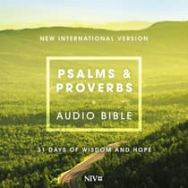 Psalms and Proverbs Audio Bible - New International Version, NIV by Zondervan audiobook