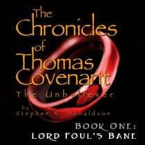 Lord Foul's Bane by Stephen R. Donaldson audiobook