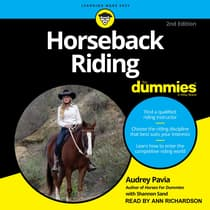 Horseback Riding For Dummies by Audrey Pavia audiobook
