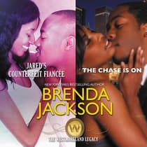 Jared's Counterfeit Fiancée & The Chase Is On by Brenda Jackson audiobook