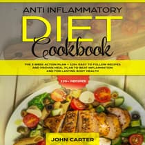 Anti Inflammatory Diet Cookbook by John Carter audiobook