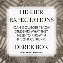 Higher Expectations by Derek Bok audiobook