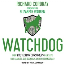 Watchdog by Richard Cordray audiobook