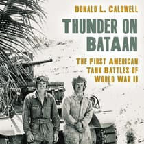Thunder on Bataan by Donald L. Caldwell audiobook