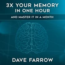 3x Your Memory in One Hour by Dave Farrow audiobook