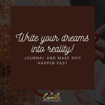 Write Your Dreams into Reality! by Camilla Kristiansen audiobook