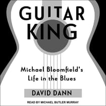 Guitar King by David Dann audiobook