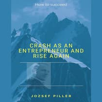 Crash as an Entrepreneur and Rise Again by Jozsef Piller audiobook