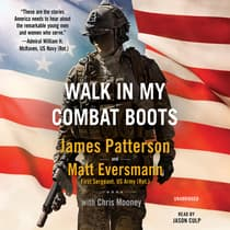 Walk in My Combat Boots by James Patterson audiobook