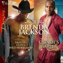 Taming Clint Westmoreland & Quade's Babies by Brenda Jackson audiobook