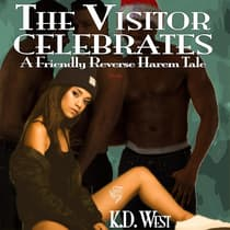 The Visitor Celebrates by K.D. West audiobook