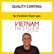 Quality Control for Fashion Start-ups with Chris Walker by Chris Walker audiobook