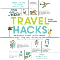 Travel Hacks by Keith Bradford audiobook