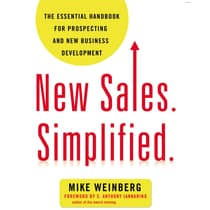 New Sales. Simplified. by Mike Weinberg audiobook