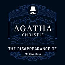 The Disappearance of Mr. Davenheim (Part of the Hercule Poirot Series) by Agatha Christie audiobook