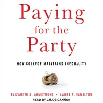 Paying for the Party by Laura Hamilton audiobook