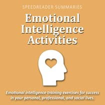 Emotional Intelligence Activities by SpeedReader Summaries audiobook
