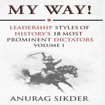 My Way! by Anurag Sikder audiobook