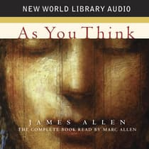 As You Think by James Allen audiobook
