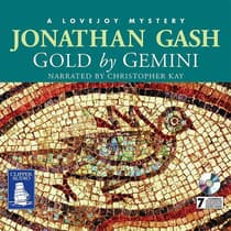 Gold by Gemini by Jonathan Gash audiobook