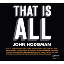 That Is All by John Hodgman audiobook