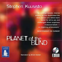 Planet of the Blind by Stephen Kuusisto audiobook