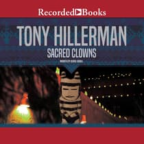 Sacred Clowns by Tony Hillerman audiobook