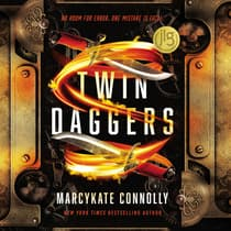Twin Daggers by MarcyKate Connolly audiobook