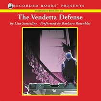 The Vendetta Defense by Lisa Scottoline audiobook