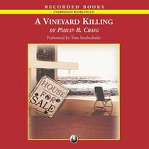 A Vineyard Killing by Philip R. Craig audiobook