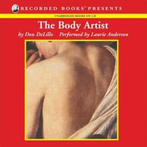 The Body Artist by Don DeLillo audiobook