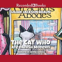 The Cat Who Ate Danish Modern by Lilian Jackson Braun audiobook