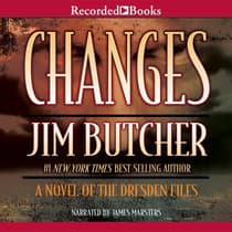 Changes by Jim Butcher audiobook
