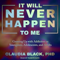 It Will Never Happen to Me by Claudia Black audiobook