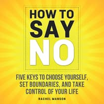 How to Say No by Rachel Manson audiobook