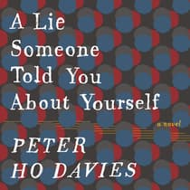 A Lie Someone Told You About Yourself by Peter Ho Davies audiobook