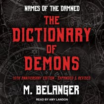 The Dictionary of Demons by M. Belanger audiobook