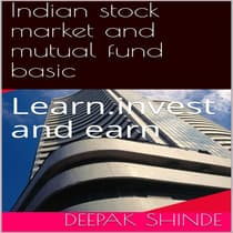 Indian stock market and mutual fund basic. by Deepak  audiobook