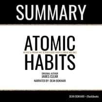 Atomic Habits by James Clear - Book Summary by FlashBooks  audiobook