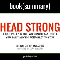 Head Strong by Dave Asprey—Book Summary by FlashBooks  audiobook