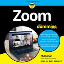 Zoom For Dummies by Phil Simon audiobook