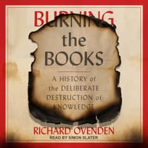 Burning the Books by Richard Ovenden audiobook