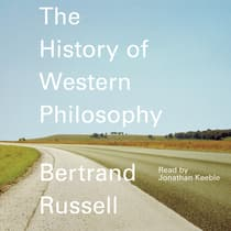 A History of Western Philosophy by Bertrand Russell audiobook